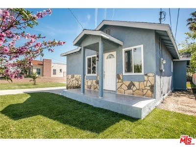 Inglewood Single Family Home For Sale: 3618 W 106th Street