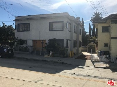 Los Angeles Multi Family Home For Sale: 1126 Marion Avenue
