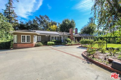 La Canada Flintridge Single Family Home For Sale: 4312 Woodleigh Lane