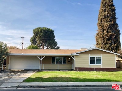 Bakersfield Single Family Home For Sale: 3821 Monitor Street