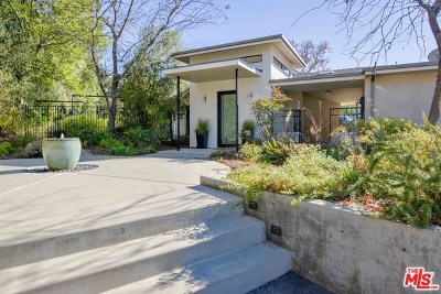 Topanga Single Family Home For Sale: 3150 Santa Maria Road
