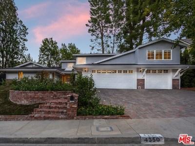Tarzana Single Family Home For Sale: 4350 Romero Drive