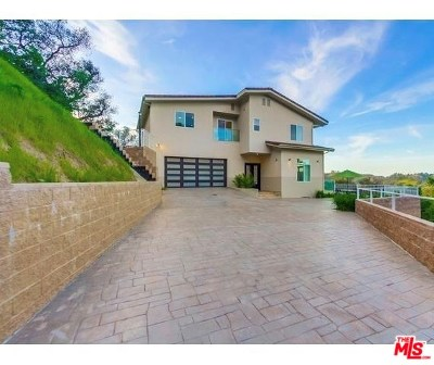 Topanga Single Family Home For Sale: 21975 Canon Drive