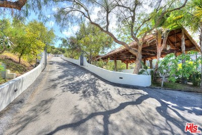 Topanga Single Family Home For Sale: 20333 Reigate Road