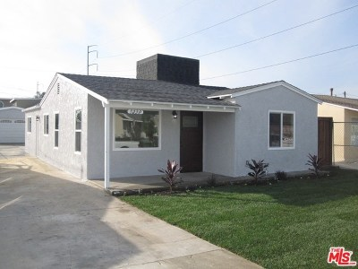 Hawthorne Single Family Home For Sale: 5030 W 132nd Street