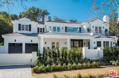 Single Family Home For Sale: 1943 Mandeville Canyon Road