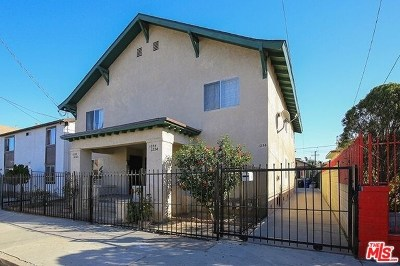 Los Angeles Multi Family Home For Sale: 1232 S Kenmore Avenue