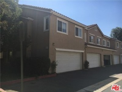 Stevenson Ranch Condo/Townhouse Active Under Contract: 25760 Perlman Place #B