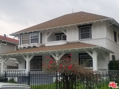 Los Angeles Single Family Home For Sale: 1324 S Westlake Avenue