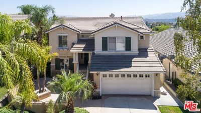 Stevenson Ranch Single Family Home Active Under Contract: 26054 Singer Place