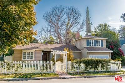 Toluca Lake Single Family Home For Sale: 4542 Ledge Avenue
