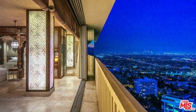 West Hollywood Condo/Townhouse For Sale: 9255 Doheny Road #2604