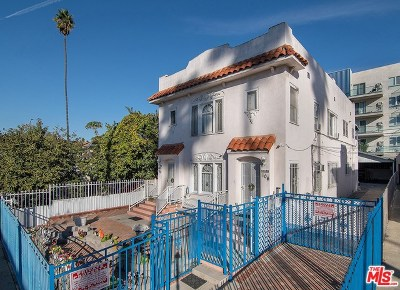 Los Angeles Multi Family Home For Sale: 104 S Normandie Avenue