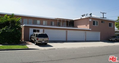 Gardena Multi Family Home For Sale: 15901 S Vermont Avenue