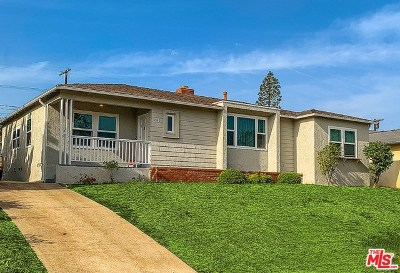 Los Angeles Single Family Home For Sale: 6360 W 80th Street