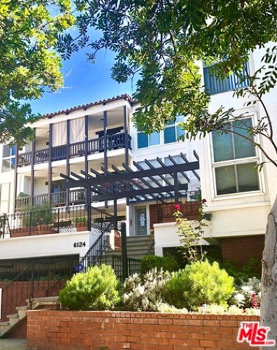 Culver City Condo/Townhouse For Sale: 6124 Buckingham #19