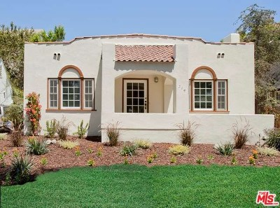 Los Angeles Single Family Home For Sale: 514 Lillian Way