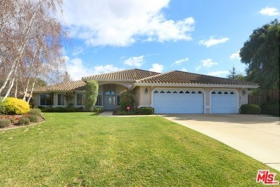 Santa Maria Single Family Home For Sale: 4566 Kris Drive