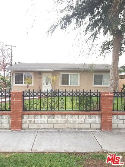Baldwin Park Single Family Home For Sale: 3288 Cosbey Avenue