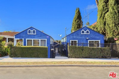 Los Angeles Multi Family Home For Sale: 1421 Mohawk Street