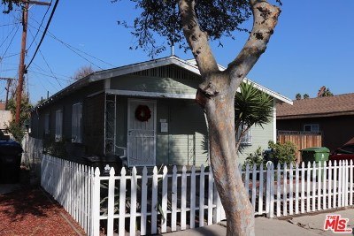 Los Angeles Single Family Home For Sale: 3115 Hyde Park