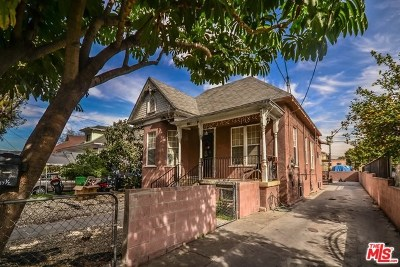 Los Angeles Multi Family Home For Sale: 237 E 31st Street