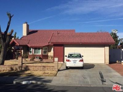 Lancaster Single Family Home Active Under Contract: 1625 E Avenue K