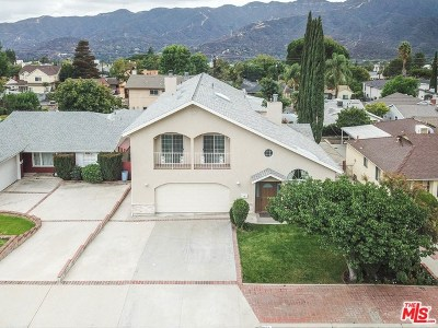 La Crescenta Single Family Home For Sale: 2918 Los Olivos Lane