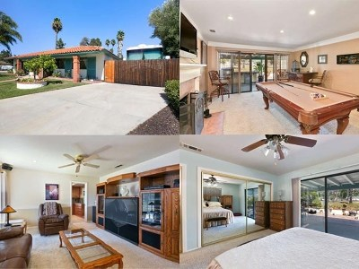 Escondido Single Family Home For Sale: 1662 W Country Club Ln