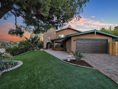 El Cajon Single Family Home For Sale: 1637 Coconut Ln