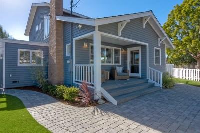 Coronado Single Family Home For Sale: 600 9th St