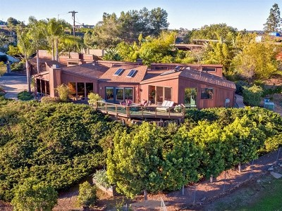 Vista Single Family Home For Sale: 1230 Via Del Cerro