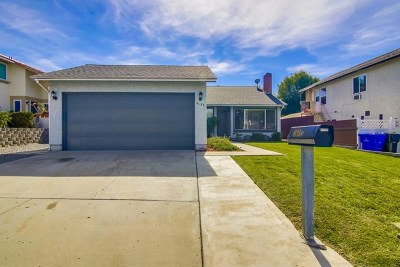 San Diego Single Family Home For Sale: 4135 Via Del Bardo