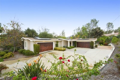 Poway Single Family Home For Sale: 16317 Woodson View Rd