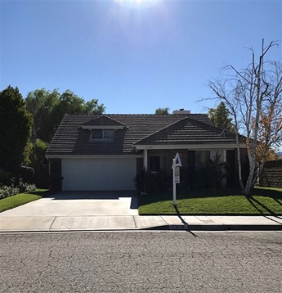 Santa Clarita Single Family Home For Sale: 23920 Clayton Ct