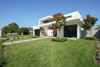 Coronado Single Family Home For Sale: 551 Country Club Ln