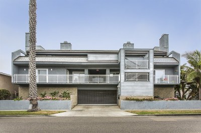 Oceanside Condo/Townhouse For Sale: 910 S Pacific #1