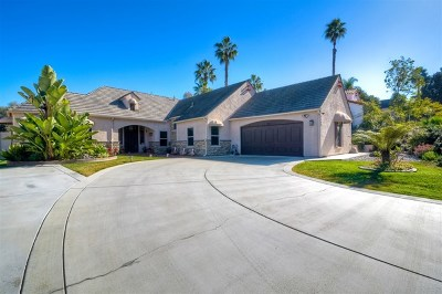 Carlsbad Single Family Home For Sale: 3544 Celinda Drive
