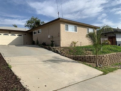 Chula Vista Single Family Home For Sale: 777 Myra