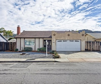 El Cajon Single Family Home For Sale: 13611 Avenida Del Charro