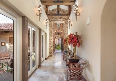 Rancho Santa Fe Single Family Home For Sale: 18564 Corte Fresco