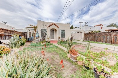 Chula Vista Multi Family Home For Sale: 507 Flower
