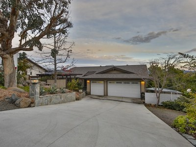 Escondido Single Family Home For Sale: 1337 Park Hill Lane