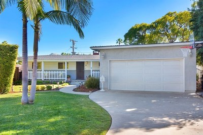 Coronado Single Family Home For Sale: 441 Country Club Ln