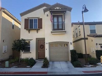 Chula Vista Single Family Home For Sale: 1584 Calle De La Flor