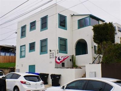 San Diego Multi Family Home For Sale: 2119 Albatross Street