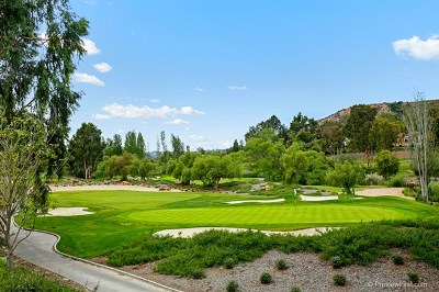 Rancho Santa Fe Single Family Home For Sale: 6311 Clubhouse Drive