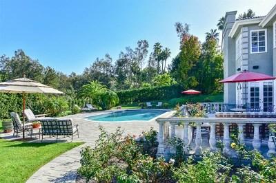 Rancho Santa Fe Single Family Home For Sale: 17323 Circa Del Sur