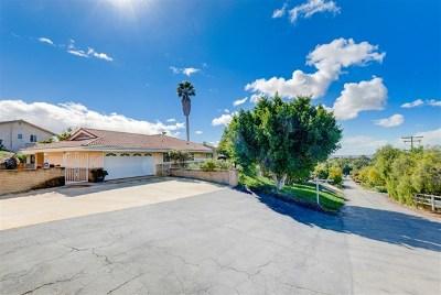 Vista Single Family Home For Sale: 1363 Douglas Drive