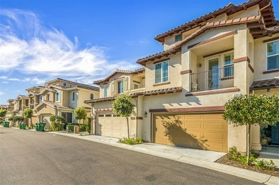 Carlsbad Condo/Townhouse For Sale: 6905 Tourmaline Place